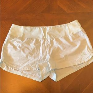 Mint colored Adidas running shorts